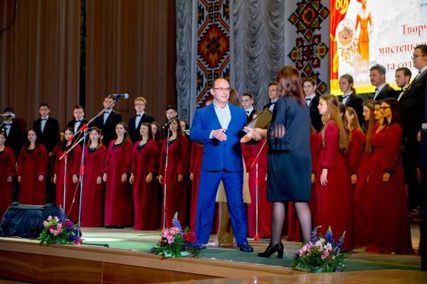 З вітальним словом від Тернопільської обласної державної адміністрації  звернувся заступник голови ОДА Юрій Юрик