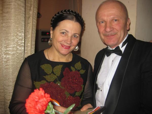Кіцила Ю.В. з  Народною артисткою України Матвієнко Ніною
